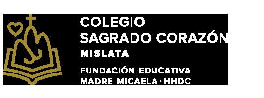 Web del colegio Sagrado Corazón. Mislata. HHDC